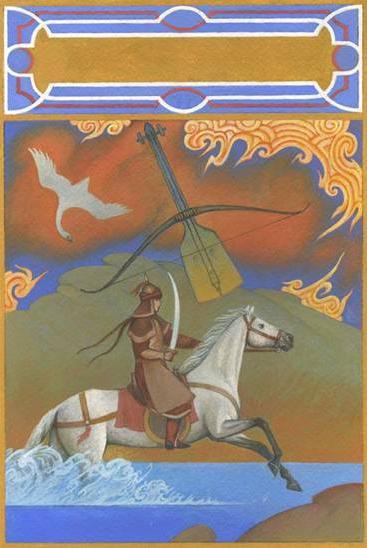Алпамша и смелая Сандугач