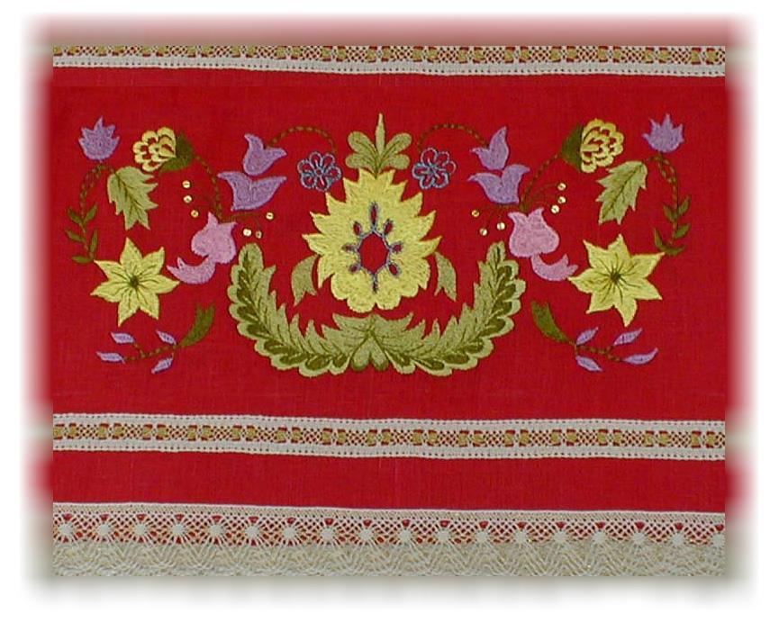 картинки татарское полотенце